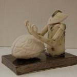 Anneli Di Francis - OM,porcelain,2013,11x13,5x8,5cm,Anneli Di Francis