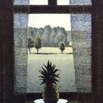 Esa Riippa: Kaukana 2003  Viivasyövytys / akvatinta  20 x 27 cm