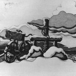 1982, akvatinta ja etsaus, 245x153 mm, kuva Pentti Paschinsky