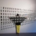 Sanat, jotka tuuli toi, 2013, installaatio (akvarelli 1-200)