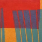 Liisa Malkamo:  Sol  2006  34 X 44   Carborundum
