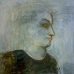 Maisa Sumari:  David  2005  76 X 76  Öljy