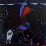 Minna Herrala:  Isadora and the rotten happening  2007  Akryyli  120X100