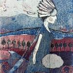 Piemonte  2013  koko 18 x 24 cm  etsaus/akvatinta/ pehmeäpohja